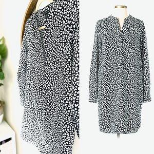 $5 SALE | Attention Leopard Shirt Dress (69)